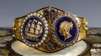 Queen Victoria wedding gift sold at auction in Guernsey