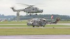 Yeovilton's 847 squadron returns home from Afghanistan