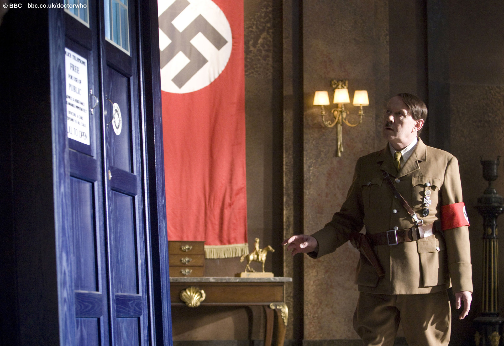 "Doctor Who ""Let's Kill Hitler"" ©BBC"